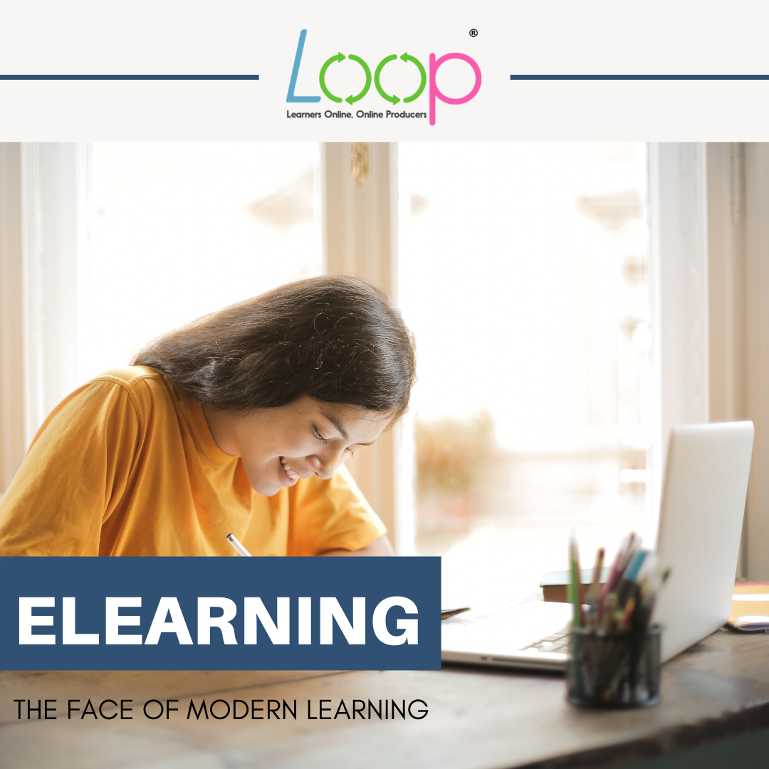 ELEARNING IS THE FACE OF 'MODERN LEARNING'