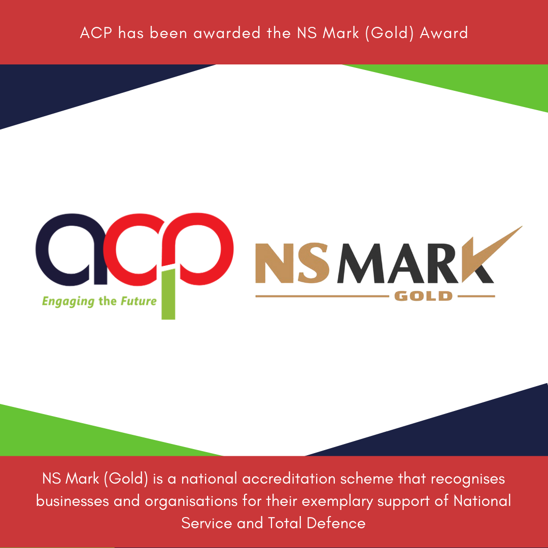 ACP has been awarded the NS Mark (Gold Award)!