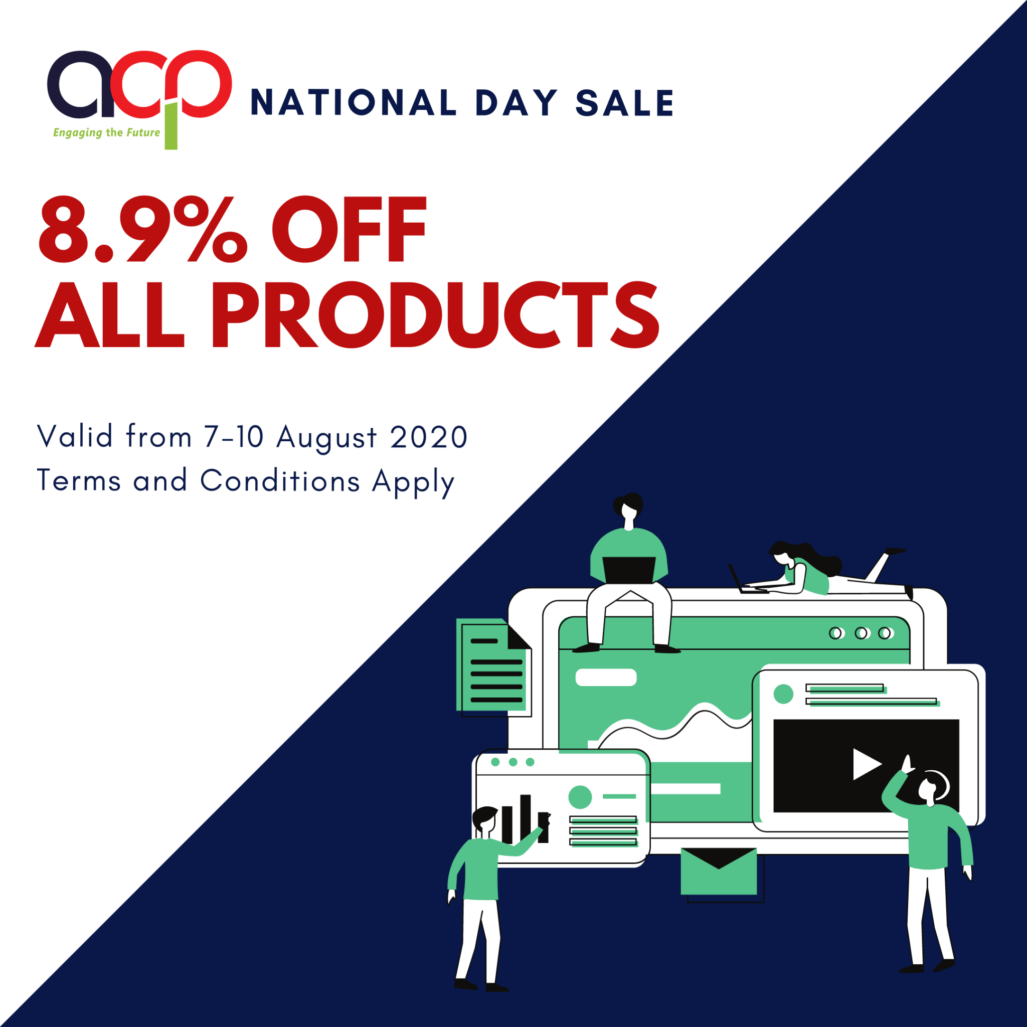 ACP's National Day Sale