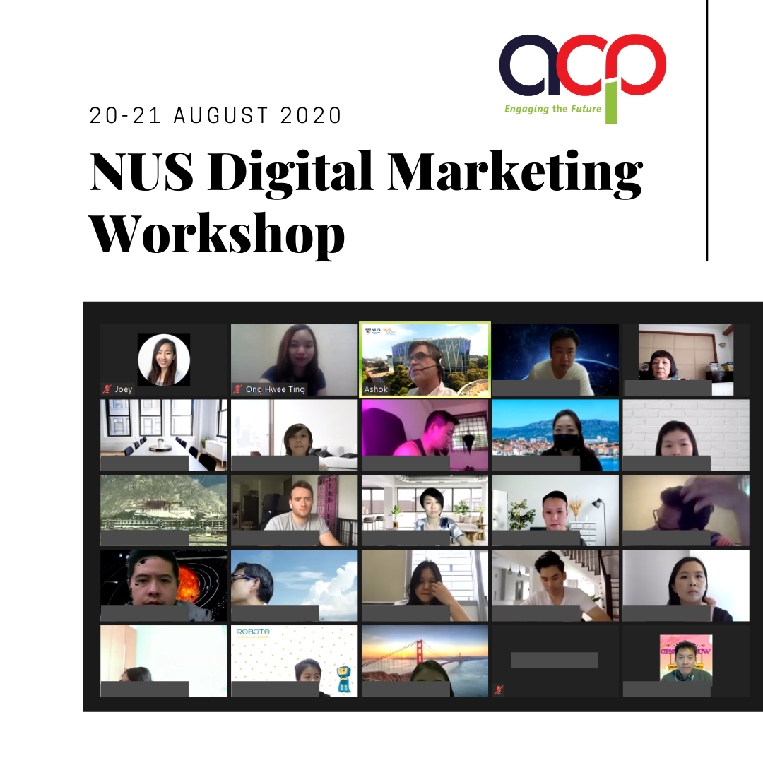 NUS Digital Marketing Workshop