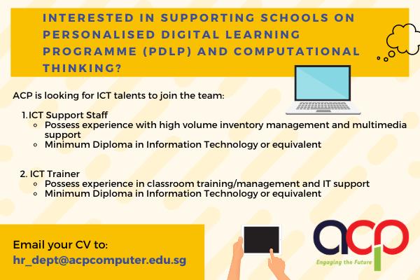 Exciting ICT School Roles!