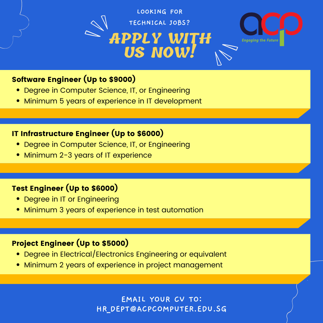 Exciting Engineer Roles!