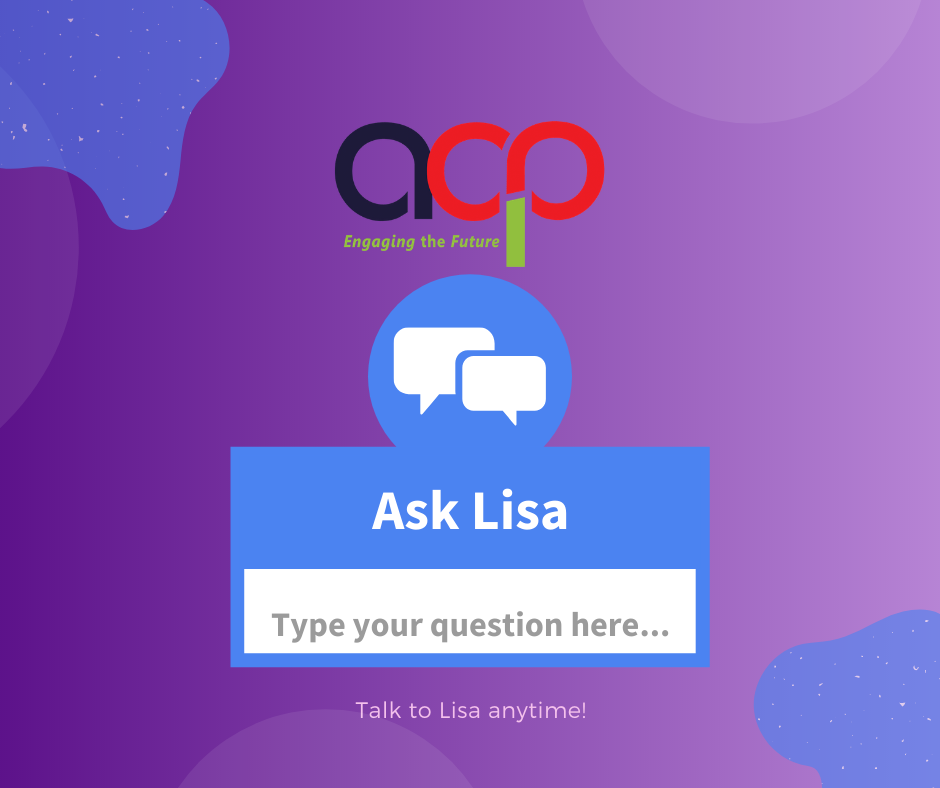 Introducing our Virtual Assistant – Lisa!