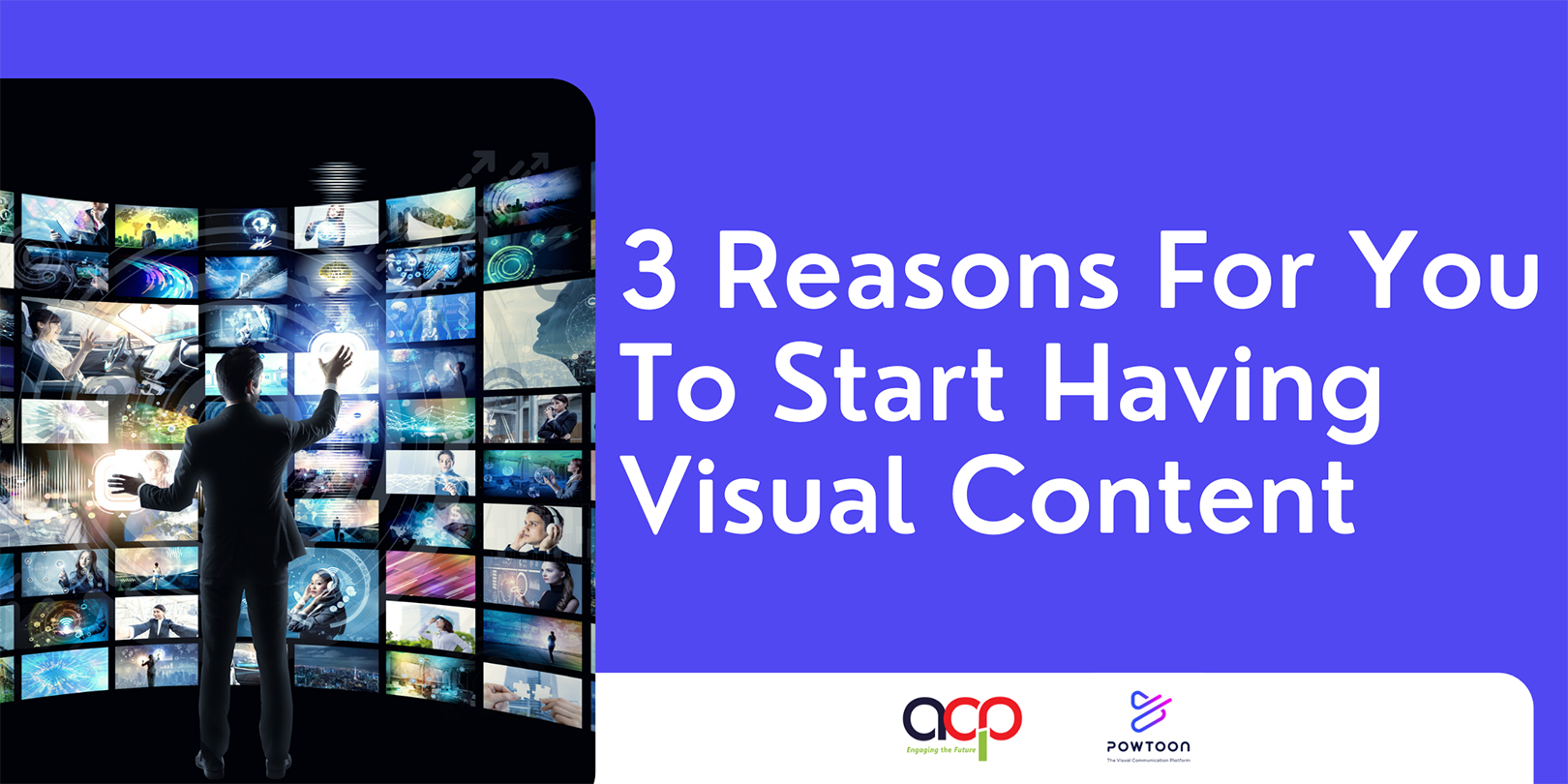 3 Reasons For You To Start Having Visual Content