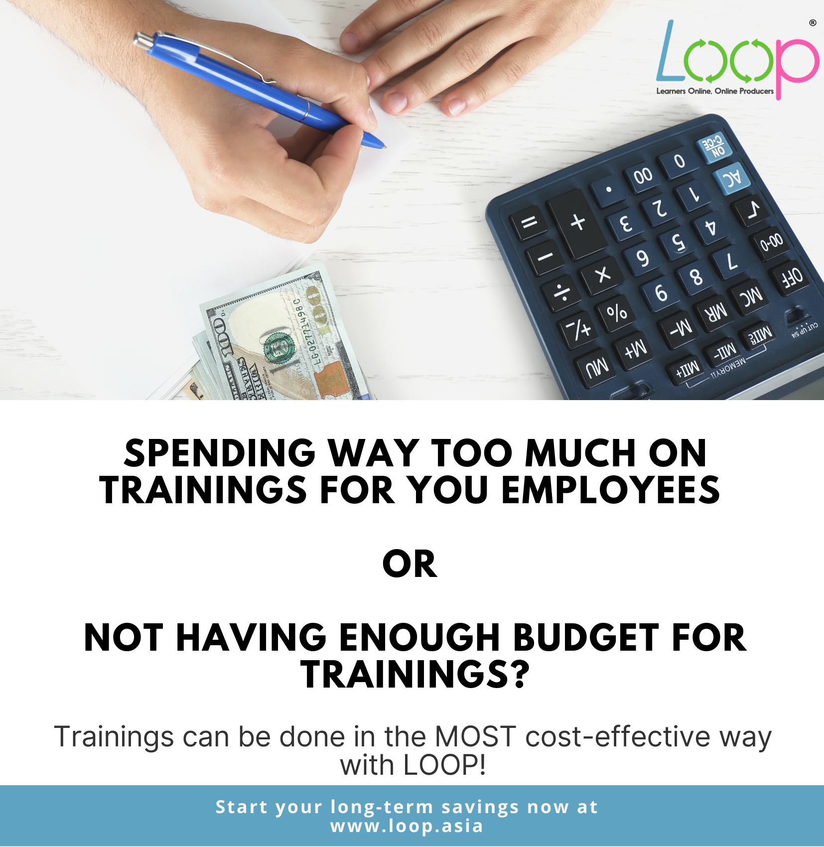 Start Having Cost-Effective Trainings!