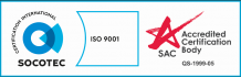 ISO 9001:2015​ certifications